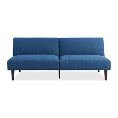 Derby Cyan Convertible Sofa Bed