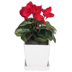 Contemporary Artificial Flower Arrangements by Vickerman Company