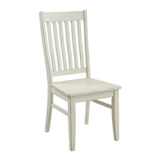 Coast To Coast Orchard Park Dining Chair With White Rub Finish 22608
