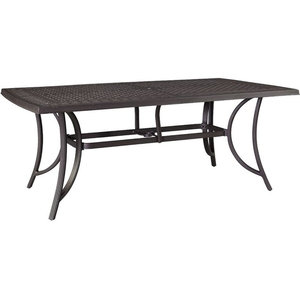 0abcc09b6528 COSCO Outdoor Living Paloma Steel Patio Dining Table - Transitional ...