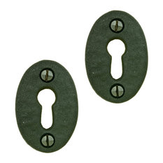 Renovator S Supply Wrought Iron Keyhole Cover Escutcheon Replacement 1 3 4 Pack