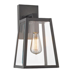 modern exterior lighting. chloe lighting inc leodegrance wall sconce black outdoor lights and modern exterior
