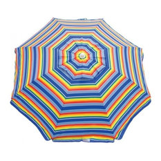 6 ft. Umbrella with Integrated Sand Anchor and Half Mesh Carry Bag