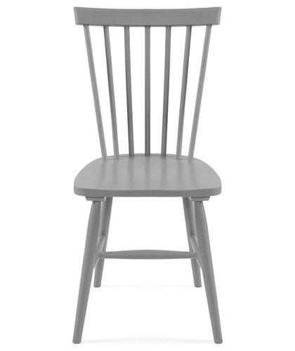Wood H17 Pinnstol, Grå - Spisebordsstole