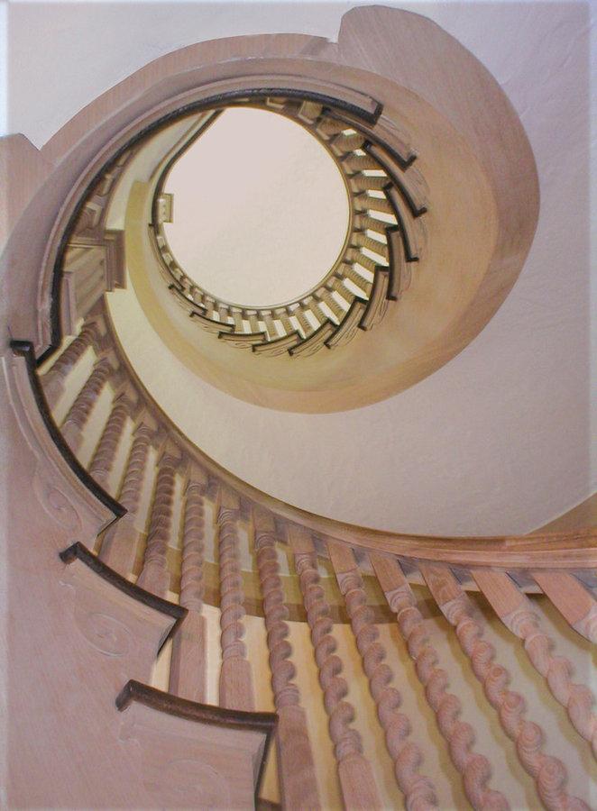 Custom Swirled Balustrade Project