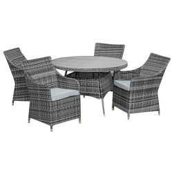 Contemporary Outdoor Dining Sets by White Stores