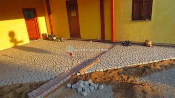 Granitpflaster Laban grau Mittelkorn