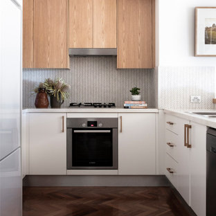 Inspiration for a scandinavian kitchen in Sydney.