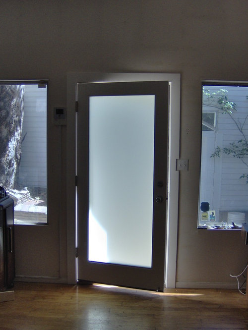 White Primed Wood French Door With Dual Tempered Clear
