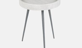 Столик малый Karrara white | ZUIVER