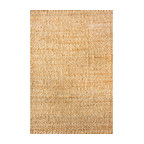 nuLOOM Hand Woven Hailey Jute, Natural, 8