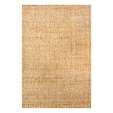 nuLOOM Hand Woven Hailey Jute, Natural, 8'x10'