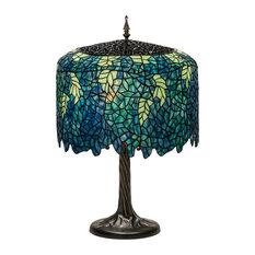 "28"" Tiffany Wisteria Table Lamp"