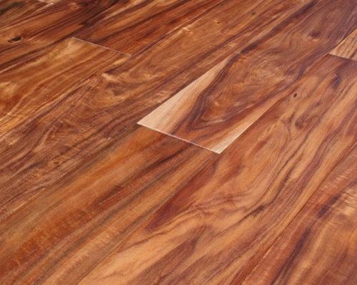 Acacia Asian Walnut Hand-Scraped Hardwood Floors - Hardwood Flooring - Acacia Hand-Scraped