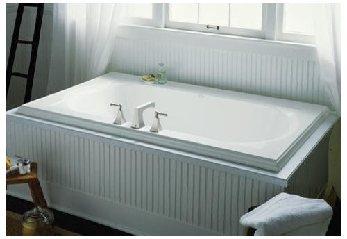 Can A Drop In Tub Be Installed An Alcove