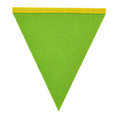 Non Wovens Felt Pennant Party Banner Triangular Flags Banner Hanging DIY Style N