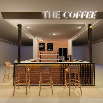 MInimalist Coffee Booth