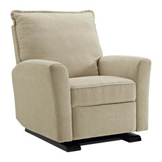 Baby Relax Lindsay Gliding Recliner, Beige