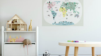 Wall stickers/ Wall sticker posters. Reusable. High Quality.