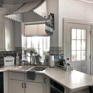 Cuisine Avec Un électroménager Noir Houston Photos Et Idées Déco