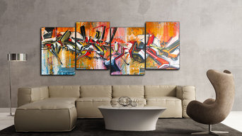 Street Art Prints and Wall Coverings