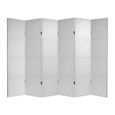 6' Tall Do It Yourself Canvas Room Divider 6 Panel