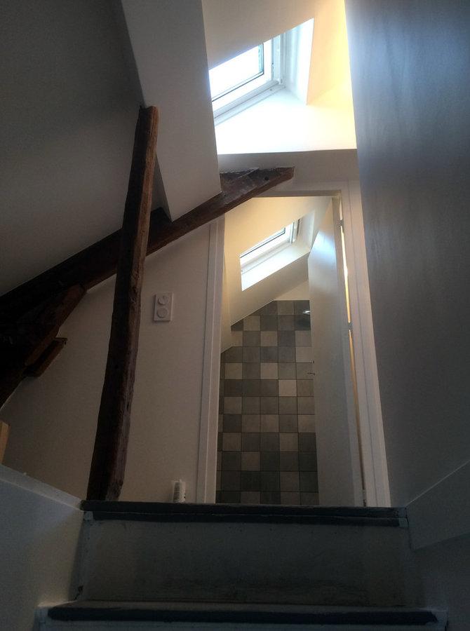 escalier après travaux