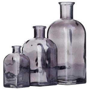Vintage Smoke Glass Bottle Novelty Lights