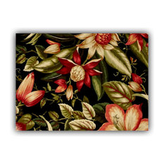 Dahlia Indoor/Outdoor Placemats, Finished Edge, Set of 2