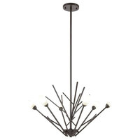 Oil Rubbed Bronze 6-Light Chandelier