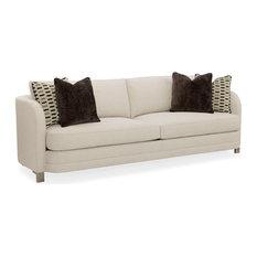Modern Streamline Curve Back Sofa