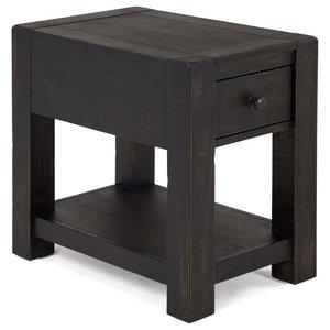 Fine Ashley Rectangular End Table Hatsuko Dark Brown Pdpeps Interior Chair Design Pdpepsorg