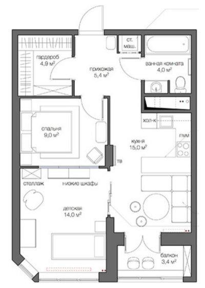 Перепланировка квартиры: 10 лет назад и сейчас