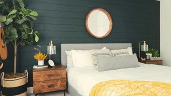Bay Area master bedroom