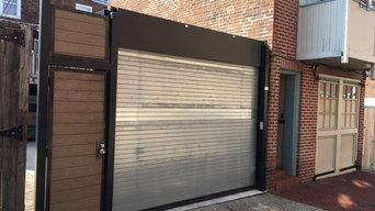residential Rolling Gate & custom Entry Door
