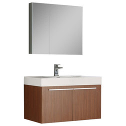 Fancy Contemporary Bathroom Vanities And Sink Consoles by DecorPlanet