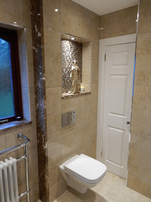 transitional belfast bathroom design ideas remodels photos