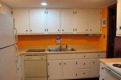 Cabinets Over Sink remove cabinets over sink for floating shelves?