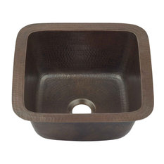 "Pollock 12"" Undermount Copper Bar Prep Sink"