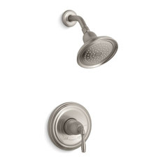Kohler Devonshire Rite-Temp Shower Valve Trim, Vibrant Brushed Nickel