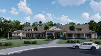 3D Exterior rendering (K-Bar, Morsani and Towns of Belleair Club Houses)