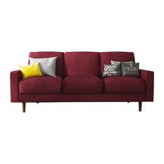 Obadiah Sofa, Dark Red