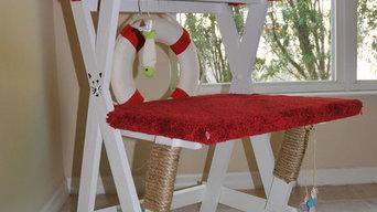 Lifeguard Chair cat tower