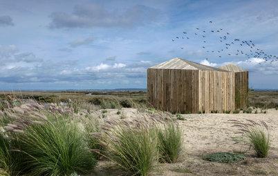 Houzzbesuch: Pure Freiheit – in zwei Holzhütten am Fluss in Portugal