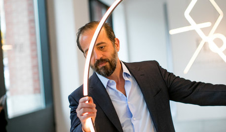 Interview Michael Anastassiades: Welche Leuchtentrends sehen Sie?