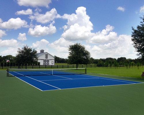 Tennis Court - Outdoor Playhouses
