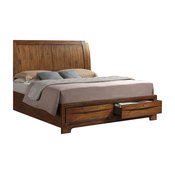 Sonoma Storage King Bed, Warm Chestnut, King