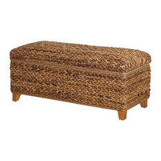 Tropical Accent and Storage Benches | Houzz