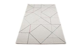 Bari Floor Rug, White, 140x200 Cm