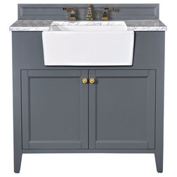 Transitional Bathroom Vanities And Sink Consoles by Ancerre Designs